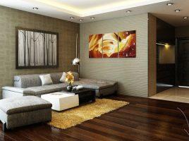 15+ Mẫu giấy dán tường phòng khách đẹp giá rẻ đáng mua nhất