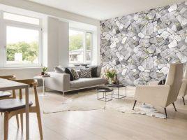15 mẫu giấy dán tường phòng khách đẹp giá rẻ đáng mua nhất