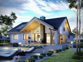 Những mẫu nhà 1 tầng mái thái giá rẻ đẹp miễn chê cho gia đình trẻ