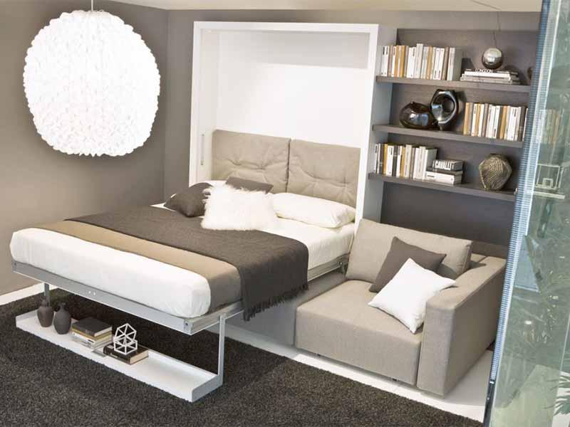 giường tích hợp sofa