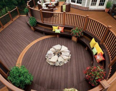 Sàn gỗ ngoài trời – Sàn gỗ nhựa ngoài trời chịu nước, chịu nhiệt