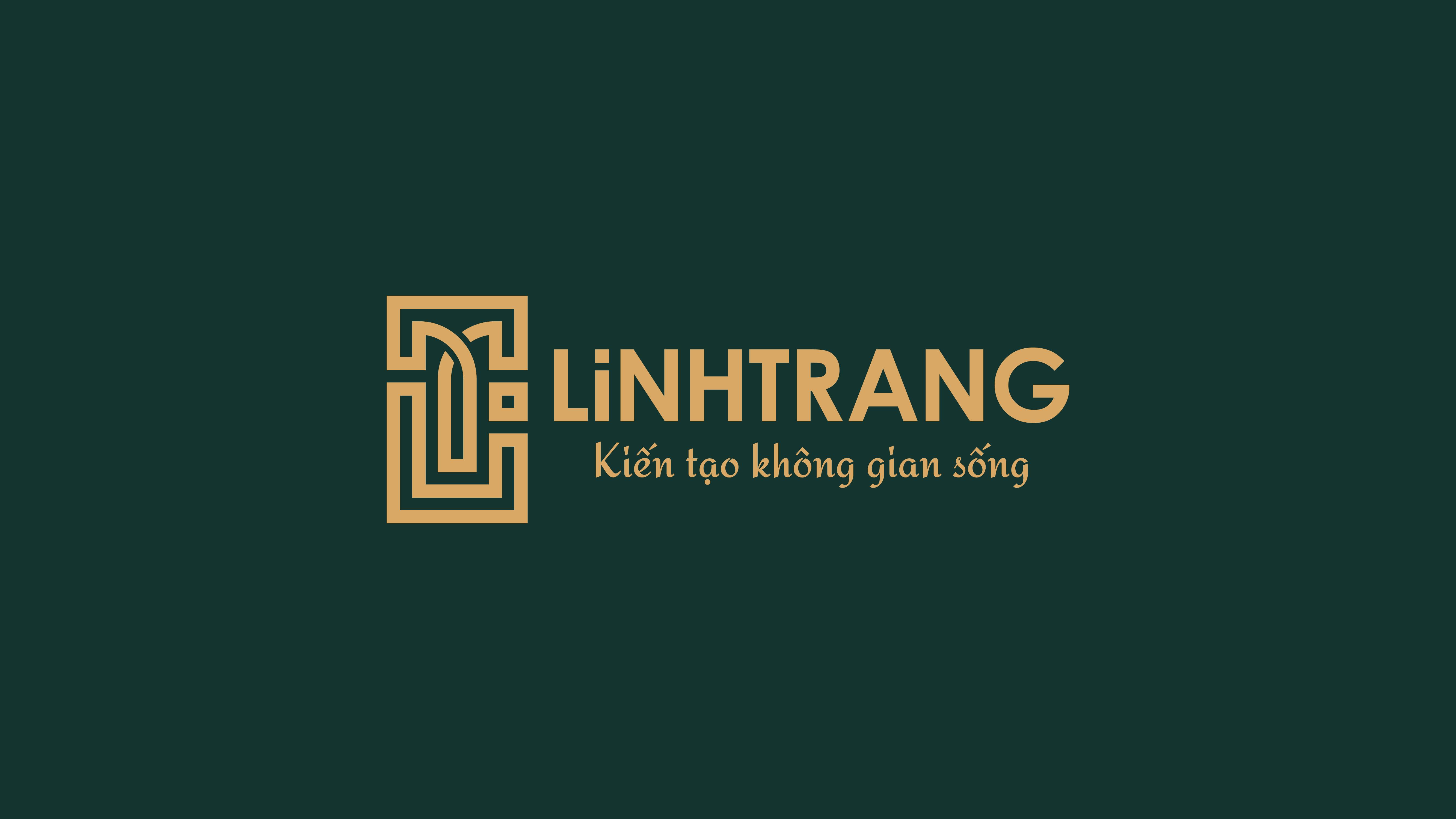 bộ nhận diện thương hiệu Linh Trang LT01