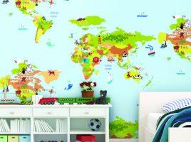 Giấy dán tường trẻ em Dream World A5055