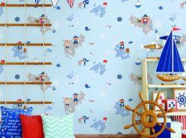 Giấy dán tường trẻ em Dream World A5112