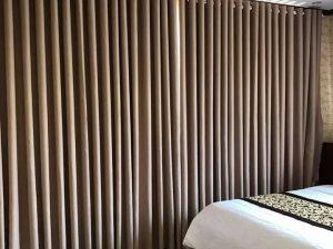 Rèm vải 1 màu Linh Trang RVM03
