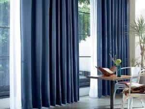 Rèm vải 1 màu Linh Trang RVM04
