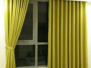 Rèm vải 1 màu Linh Trang RVM16