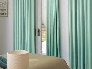 Rèm vải 1 màu Linh Trang RVM17