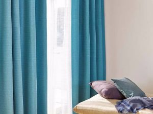 Rèm vải 1 màu Linh Trang RVM18