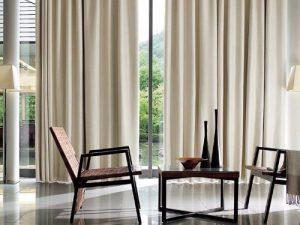 Rèm vải 1 màu Linh Trang RVM21