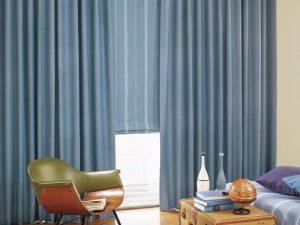 Rèm vải 1 màu Linh Trang RVM22