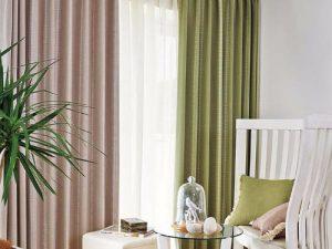 Rèm vải 1 màu Linh Trang RVM23