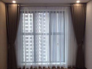 rèm vải 2 lớp linh trang RV06