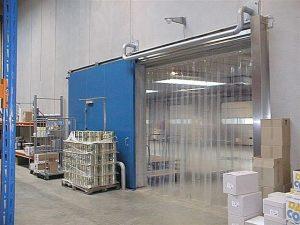 rèm nhựa pvc ngăn lạnh PVC01