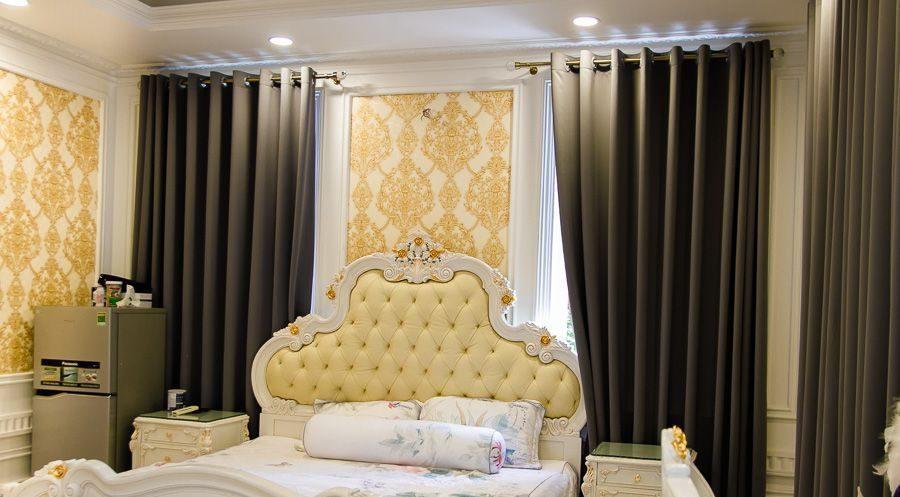 rèm thái phòng ngủ quý phái