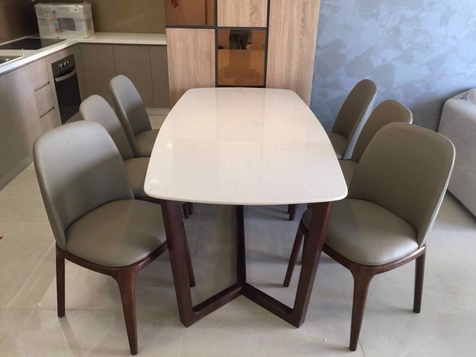 Bộ bàn ghế ăn BGA04