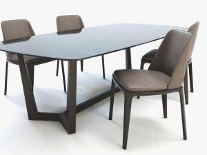Bộ bàn ghế ăn BGA05