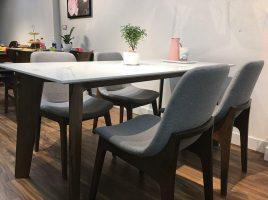 Bộ bàn ăn 4 ghế BGA07