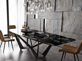 Bộ bàn ăn 6 ghế BGA12