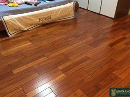 Sàn gỗ gõ đỏ Nam Phi 15x90x600mm