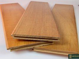 Sàn gỗ gõ đỏ Nam Phi 18x120x750mm