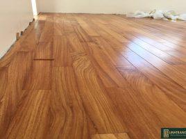 Sàn gỗ gõ đỏ Nam Phi 18x120x600mm