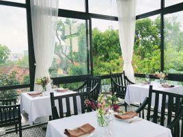 Top 7 mẫu rèm cửa đẹp cho nhà hàng cao cấp, sang trọng