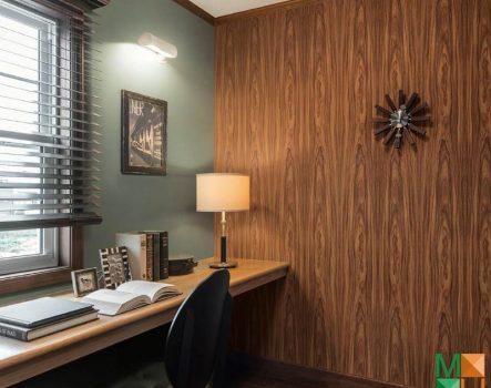 Chiêm ngưỡng những mẫu giấy dán tường giả gỗ đẹp, sang trọng