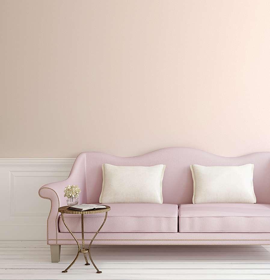 Giấy dán tường Hàn Quốc màu hồng pastel