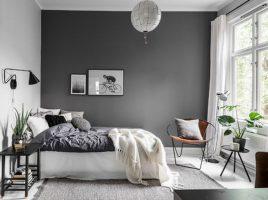 Giấy dán tường màu xám – Gam màu lạnh xu hướng của năm