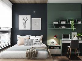 Học chuyên gia chọn giấy dán tường phòng ngủ thật ấn tượng