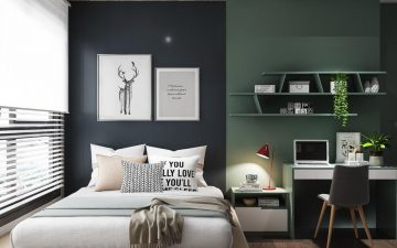 Học chuyên gia cách chọn giấy dán tường phòng ngủ thật ấn tượng