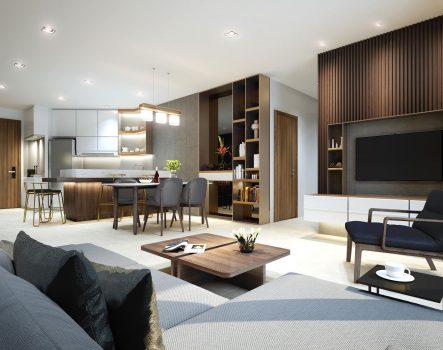 4 xu hướng thiết kế nội thất phòng khách đi đầu 2020