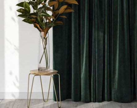 Rèm vải nhung – Vẻ đẹp cổ điển cho thiết kế tân thời