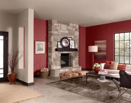Mệnh Hỏa sơn nhà màu gì trung hòa khí nóng, tốt cho phong thủy?