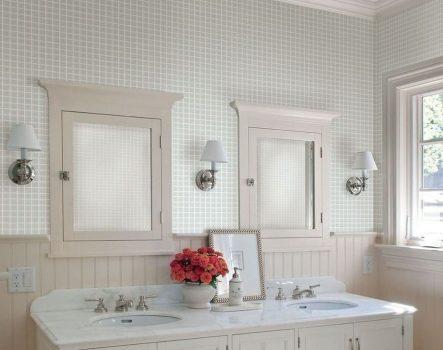 Giấy dán tường phòng tắm không thấm nước vừa đẹp vừa tiện