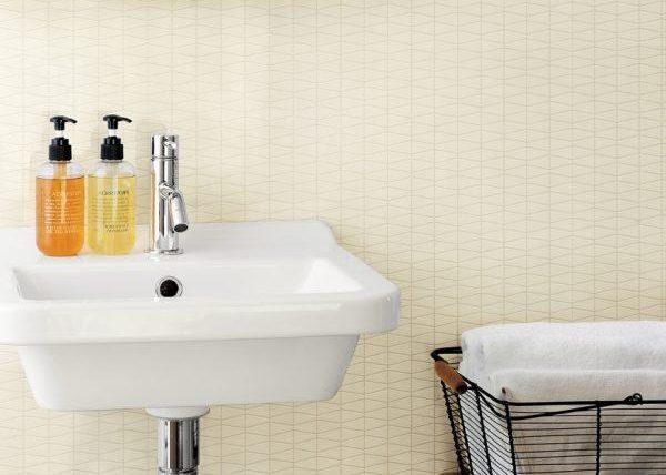 màu giấy dán tường phòng tắm