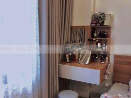 Rèm vải 2 lớp voan họa tiết RVHT01