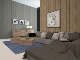 Giấy dán tường giả gỗ G001