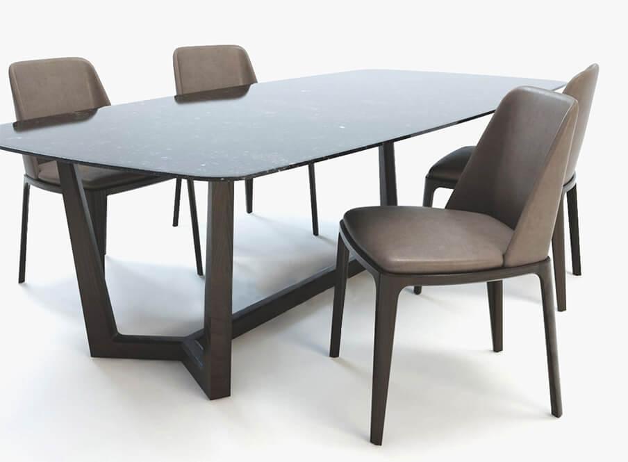 bộ bàn ăn, bộ bàn ghế ăn 6