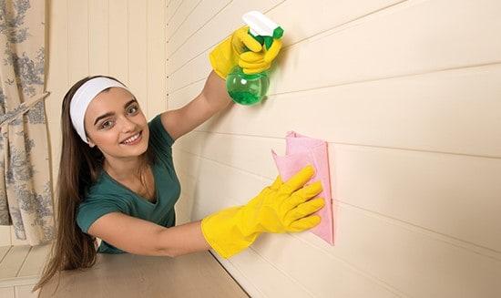 bóc giấy dán tường
