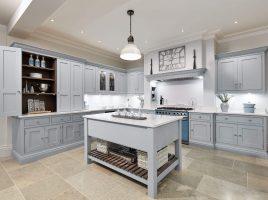 Nội thất nhà bếp đẹp hài hòa tạo cảm giác đầm ấm mỗi bữa ăn