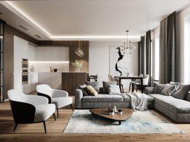 Một số phong cách thiết kế nội thất chung cư nổi bật và độc đáo